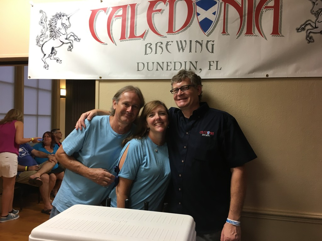 Caledonia at Half Way There Beer Fest 2017